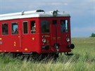 Motorový vůz M 131.1 dostal řadu přezdívek: stojednatřicítka, létající kufr,...