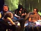 Kapela Vanessa v Tečce páteční noci na ČT ART testovala hranice umění.