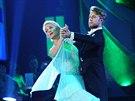 Anna Pol�vkov� a Michal Kurti� ve fin�le StarDance VI - gener�lka (21. prosince...