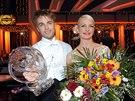 Kr�lovna a kr�l tane�n�ho parketu �est� �ady StarDance Anna Pol�vkov� a Michal...