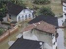 Jihovýchod Brazílie zasáhly největší záplavy za posledních devadesát let.