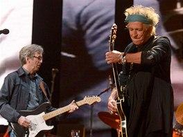 Crossroads Guitar Festival 2013 - Eric Clapton a Keith Richards