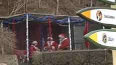 Santa v Zoo Praha