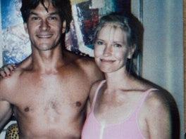 Patrick Swayze a jeho manželka Lisa Niemi na archivním snímku