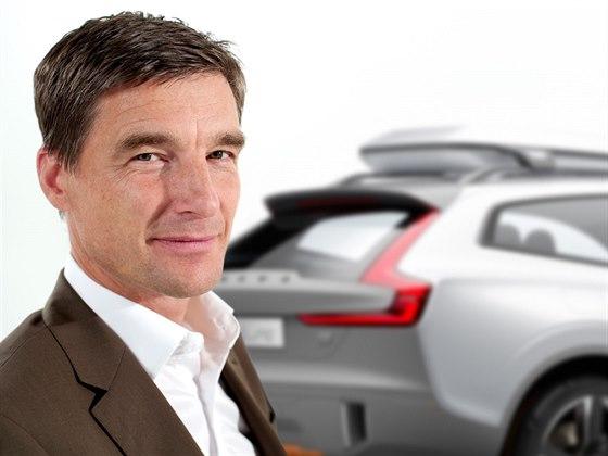 Volvo XC Coupé a šéfdesignér švédské značky Thomas Ingenlath