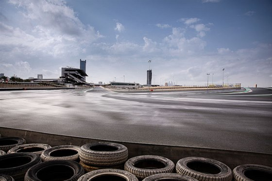 Okruh v Dubaji je dlouh� 5,39 kilometru