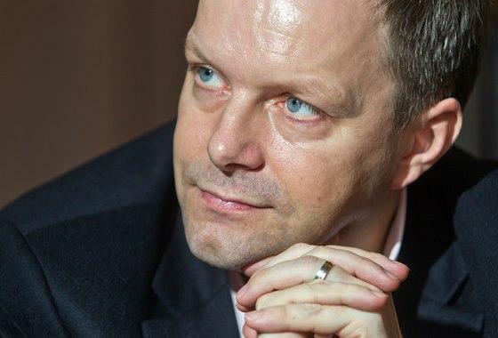 Kandidát na ministra školství Marcel Chládek (9. ledna 2014)