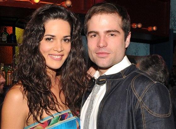Monica Spearová a její manžel Thomas Berry