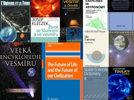 Malý výběr z mnoha publikací astronoma Josipa Kleczka