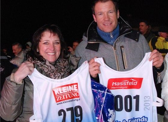 S Arminem Assingerem a startovními čísly
