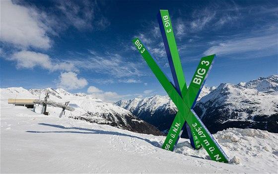 Velká trojka - tři vrcholy přes 3 000 m můžete objet za jeden den - 50 km se dá