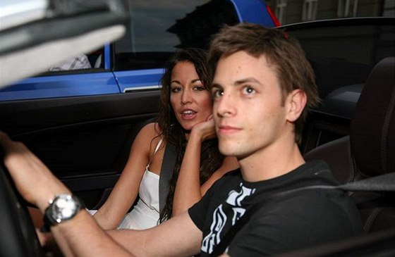 Ag�ta Hanychov� a Jan Charouz