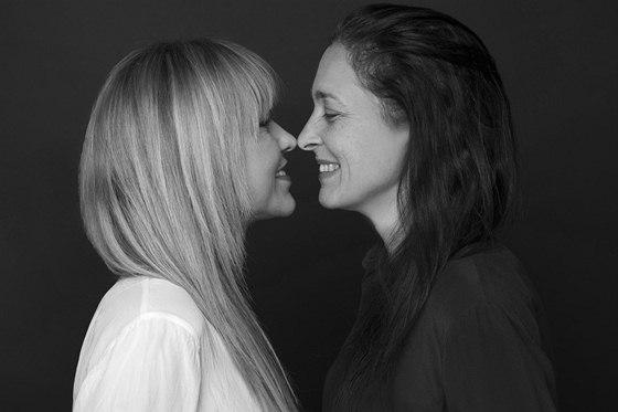 RODINA POD LUPOU: Kateřina Hrachovcová se sestrou Alenou