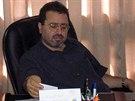 Palestinsk� velvyslanec v �esk� republice D�am�l Muhammad D�am�l na archivn�m...