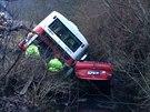 Nehoda autobusu linky 256 (4. ledna 2014)