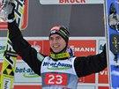 Finský sdruženář Anssi Koivuranta překvapivě vyhrál třetí závod skokanského...