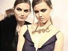 Náhrdelníky z kolekce Lanvin, podzim-zima 2013, odráží nový trend ve světě...