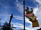 Začala rekonstrukce Mariánského morového sloupu na Hradčanském náměstí. Sneseny