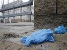 Druhý den vyšetřování výbuchu v areálu budoucí palestinské ambasády v Praze -...