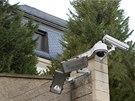 Luxusní Krejčířova vila v Černošicích je pod stálým dohledem kamer.