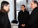 David Rath, Kate�ina Pancov� a Petr Kott p�ed jedn�n�m Krajsk�ho soudu v Praze