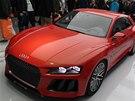Laserová světla na konceptu Audi Sport Quattro