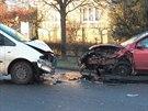 Námraza pokryla většinu silnic v Česku. Klouzalo to  i v Zelenči nedaleko...