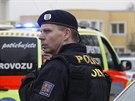 Bytem palestinského velvyslance v pražské Internacionální ulici otřásl před...