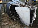Automobil Lada Niva, který řídil šestnáctiletý chlapec, narazil v Morávce na...