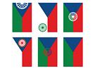 Finální podobu nové česko-romské vlajky bylo možné volit ze sedmi návrhů, které byly vybrány na základě rozhodnutí odborné komise.