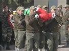 V palestinském Ramalláhu pohřbili velvyslance Džamála al-Džamála, kterého v...
