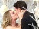 Kaley Cuoco a Ryan Sweeting se vzali na Silvestra.