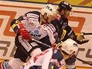 Momentka z utkání Pardubice - Liberec