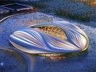Vizualizace: Stadion má podle autorů připomínat arabskou plachetnici, objevují