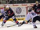 Momentka z duelu Liberec - Chomutov.
