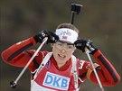 Norská biatlonistka Synnoeve Solemdalová