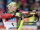 Běloruská biatlonistka Darja Domračevová