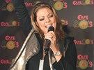 Zpěvačka Sandra zazpívala několik svých hitů