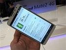 P�edstaven� Huawei Ascend Mate 2 na veletrhu CES v Las Vegas