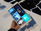 Tablet Samsung Galaxy Tab Pro 8.4 na veletrhu CES v Las Vegas
