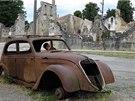 Trosky a vraky. Němá připomínka masakru v Oradour-sur-Glane.