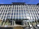 Nový administrativní komplex Florentinum, který vytvořil nový průchod mezi