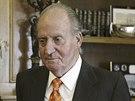 Španělský král Juan Carlos (8. ledna 2014)