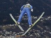 Jakub Janda ská�e v Innsbrucku.