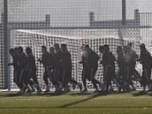 Fotbalisté Jihlavy zahajují při zimní přípravě.