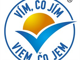 Logo Vím co jím se odvolává na doporučení Světové zdravotnické organizace a...