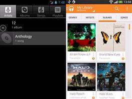 Hudba (Music) AOSP a Google Music