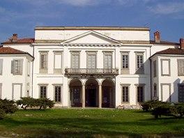 Villa Mirabello v Itálii
