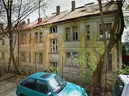 Budova v ulici Na Petynce 487/21 v Praze 6