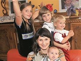 Herečka a maminka čtyř dětí Zdeňka Žádníková Volencová